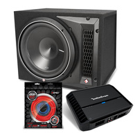 "ROCKFORD FOSGATE 12"" P3 PUNCH LOADED PACKAGE"