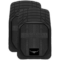 WILDCAT RMW RUBBER FRONT MATS BLACK SET OF 2