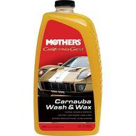 MOTHERS MOTHERS CARNAUBA WASH & WAX 1.8L