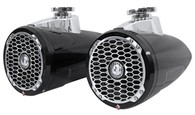 "ROCKFORD FOSGATE PM2652W-B PUNCH MARINE 6.5"" WAKE TOWER SPEAKERS"