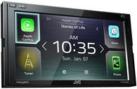 JVC KW-M740BT APPLE CARPLAY + ANDROID AUTO HEAD UNIT