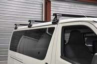 RHINO JA6133 HEAVY DUTY RL110 3 BAR ROOF RACK - BLACK