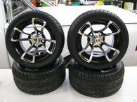 DWT 12X7 GOLF KART WHEEL + TYRE 4X101.6