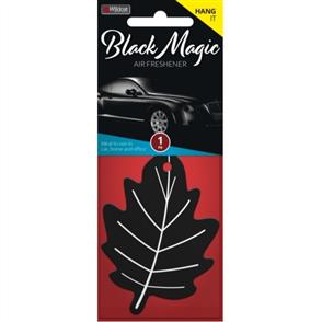 AIR FRESHENER LEAF BLACK MAGIC