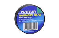 NARVA PVC HARNESS TAPE BLACK 19MM - 20M