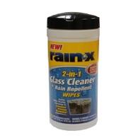 RAIN-X GLASS TREATMENT WIPES PK25