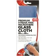 KENCO MICROFIBRE GLASS CLOTH 40CM X 40CM