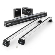 THULE WINGBAR FOR VEHICLE WITH FLUSH MOUNT RAILS -SILVER