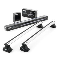 THULE WINGBAR FOR VEHICLES WITH NORMAL ROOF - SILVER