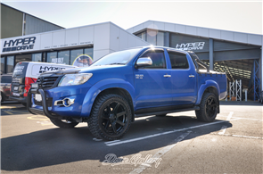 "BGW COLORADO DMAX HILUX 20"" WHEEL + A/T TYRE PACKAGE"