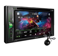 PIONEER AVH-A205BT HEAD UNIT + REVERSE CAMERA PACKAGE