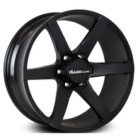 ADVANTI BISON MATT BLACK WITH WHITE SPOKES