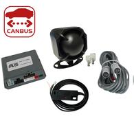 AVS C5 CANBUS ALARM WITH ULTRASONICS AND TILT SENSOR