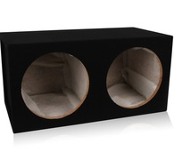 "HYPER DRIVE SB212 DUAL 12"" SEALED SUB BOX"