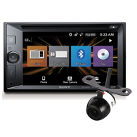 SONY XAV-W651BT HEAD UNIT + REVERSE CAMERA PACKAGE