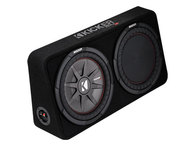 "KICKER TCWRT122 COMP-RT 12"" 2 OHM SLIM SUB + BOX 500W RMS"