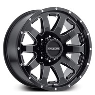 RACELINE ENFORCER GLOSS BLACK MILLED