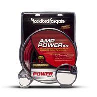 ROCKFORD FOSGATE RFK4X 2 CHANNEL AMP WIRING KIT 4 GAUGE