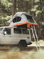 FELDON SHELTER CROW'S NEST REGULAR ROOFTOP TENT - ORANGE