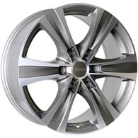 FORUM WHEELS KRATOS MATT GUNMETAL MACHINE