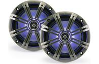 "KICKER KM654L KM SERIES 6.5"" MARINE LED 2 WAY COAX"