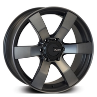 ADVANTI TYPHOON SATIN BLACK DARK TINT