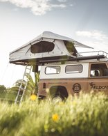 FELDON SHELTER CROW'S NEST EXTENDED ROOFTOP TENT - COAL BLACK