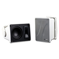 KICKER KB6000W FULL RANGE SPEAKER ENCLOSURE WHITE