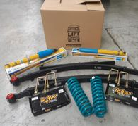 "LIFT JUNKIE NAVARA D40 2"" KIT INCL SHOCKS + COILS + LEAFS"