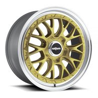 ROTIFORM LSR MATT GOLD MACHINED LIP