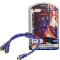 AERPRO MX1F2M RCA SPLITTER - 1FEM / 2MALE
