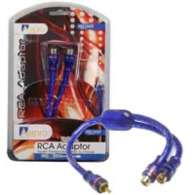 AERPRO MX21 RCA SPLITTER - 1MALE / 2FEM