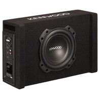 "KENWOOD PA-W801B 8"" SUB + PORTED ENCLOSURE + BUILT IN AMP"