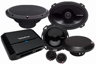 "ROCKFORD FOSGATE PUNCH PACKAGE #1 - 6"" COMP + 6X9 + AMPLIFIER"