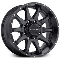 RACELINE SHIFT SATIN BLACK