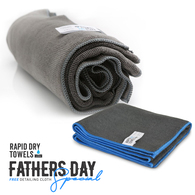 RAPID DRY TOWELS FATHERS DAY PACK - ORIGINAL RDT + BONUS FINISHER