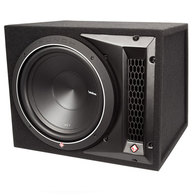 "ROCKFORD FOSGATE P1-1X12 PUNCH SERIES 12"" LOADED ENCLOSURE 250W RMS"