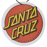 SANTA CRUZ AIR FRESHENER - BIG DOT COCONUT