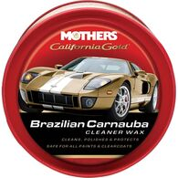 MOTHERS CARNAUBA CLEANER WAX PASTE 340G