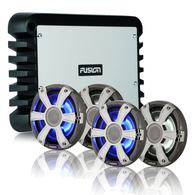 "FUSION SIGNATURE SERIES FULL 6.5"" AMPED SPEAKER SYSTEM"