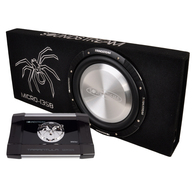 "SOUNDSTREAM MICRO-13SB SLIM 13"" SUB + AMPLIFIER PACKAGE"