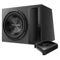 "PIONEER A SEIRES 12"" SUB + SLOTPORT BOX + AMP PACK"