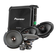 "PIONEER D SERIES 6.5"" COMP + COAX + AMPLIFIER PACK"