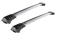 THULE WINGBAR EDGE FOR VEHICLE WITH RAISED RAILS -SILVER