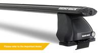 RHINO RACK JA7997 VORTEX VA126B+RLKVA+DK430 2 BAR