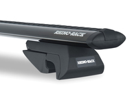 RHINO VORTEX SX BLACK - FOR VEHICLES WITH RAISED RAILS