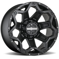 WORX CLASH MATTE BLACK MILLED