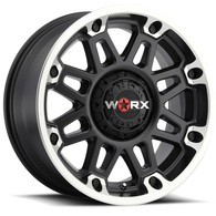 WORX CONQUEST MATTE BLACK MACHINED
